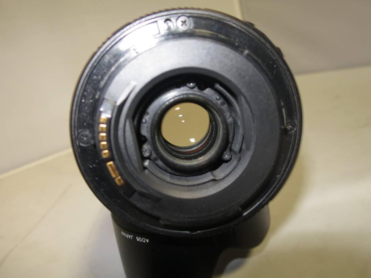 高倍率 ズームレンズ Tamron タムロン AF XR DiⅡ LD (IF) 18-200mm F3.5-6.3 MACRO CANON キャノン 送料無料_画像5