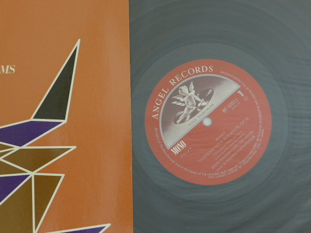 LP国内東芝EMI盤/フルトヴェングラー・ベルリンフィルハーモニー管弦楽団/ブラームス交響曲第4番_画像3