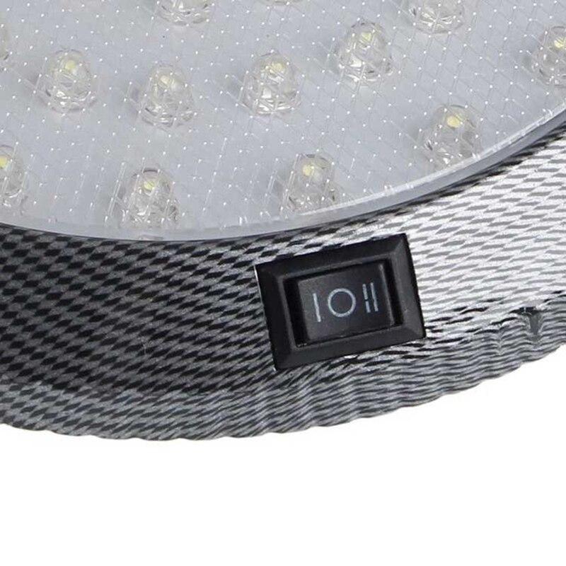 車のドームライトインテリア天井ランプ 12V キャンピングカーモーターホームのためボートトレーラー RV ライト_画像4