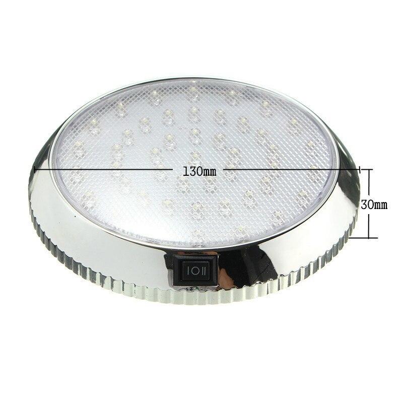 車のドームライトインテリア天井ランプ 12V キャンピングカーモーターホームのためボートトレーラー RV ライト_画像6