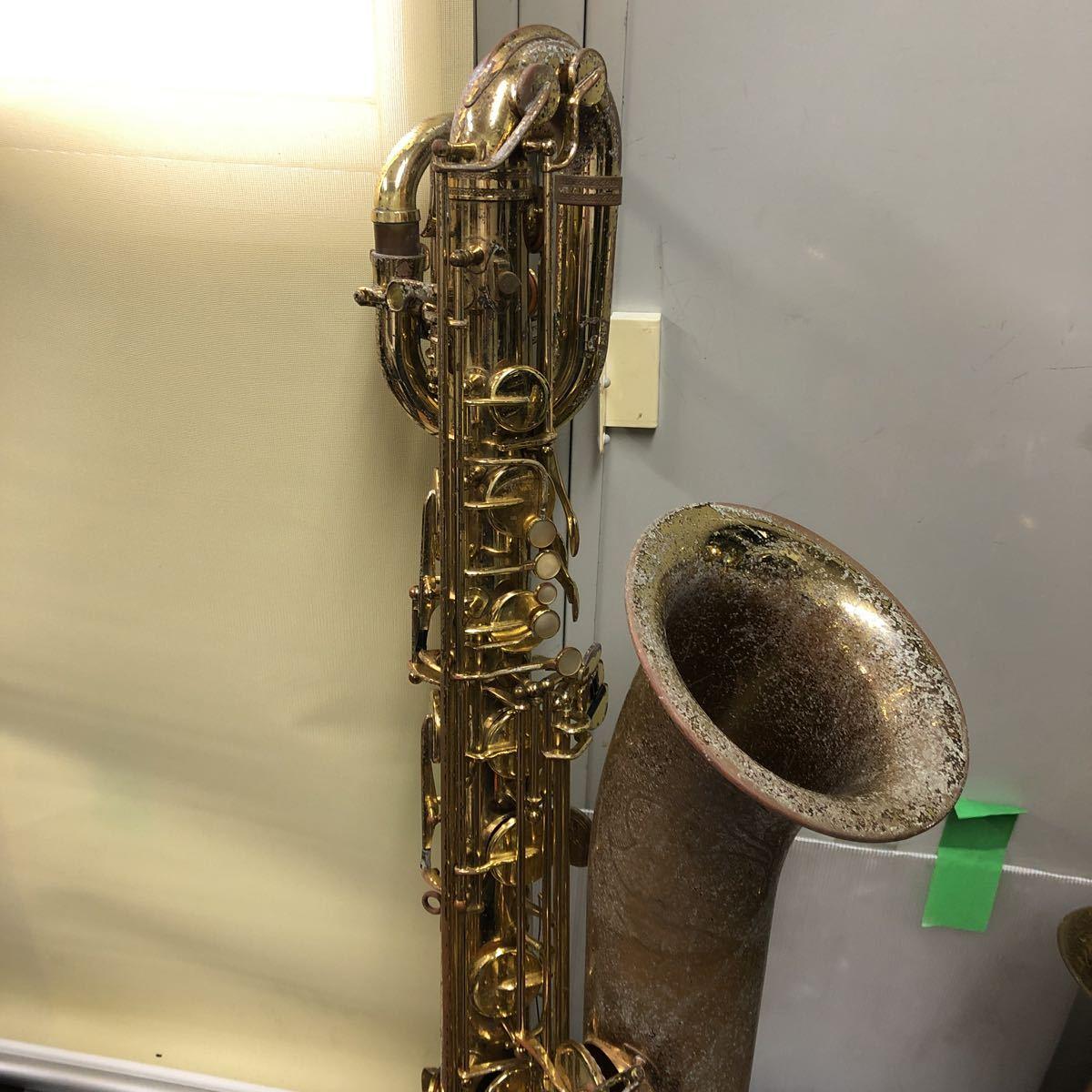 ★YAMAHA★ヤマハ バリトンサックス YBS-61 木管楽器 プロモデル 5388 ヴィンテージ 中古現状品 _画像2