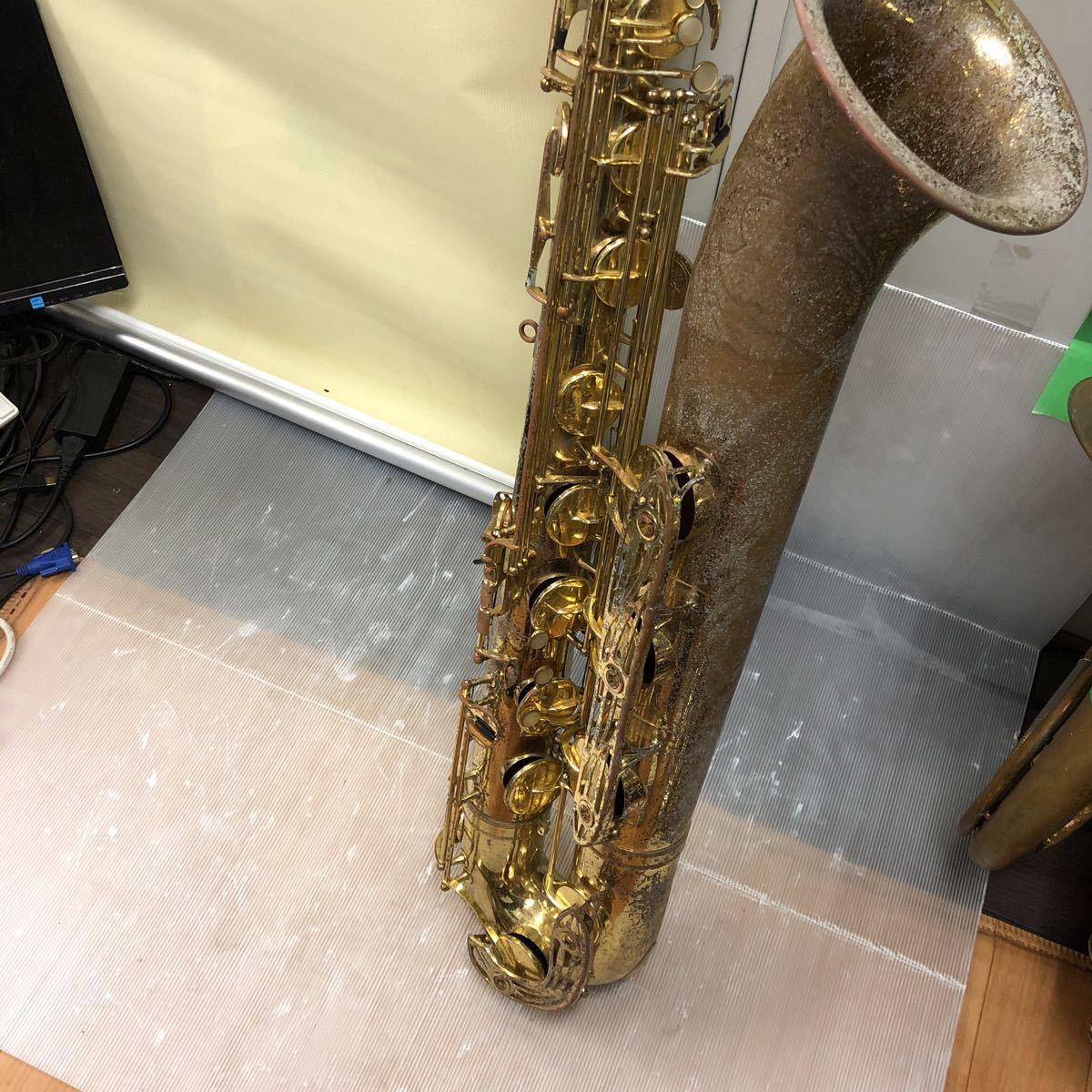 ★YAMAHA★ヤマハ バリトンサックス YBS-61 木管楽器 プロモデル 5388 ヴィンテージ 中古現状品 _画像1