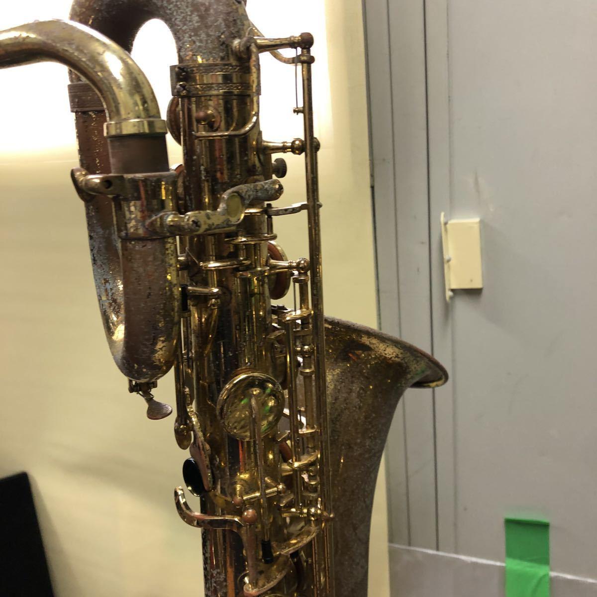 ★YAMAHA★ヤマハ バリトンサックス YBS-61 木管楽器 プロモデル 5388 ヴィンテージ 中古現状品 _画像8