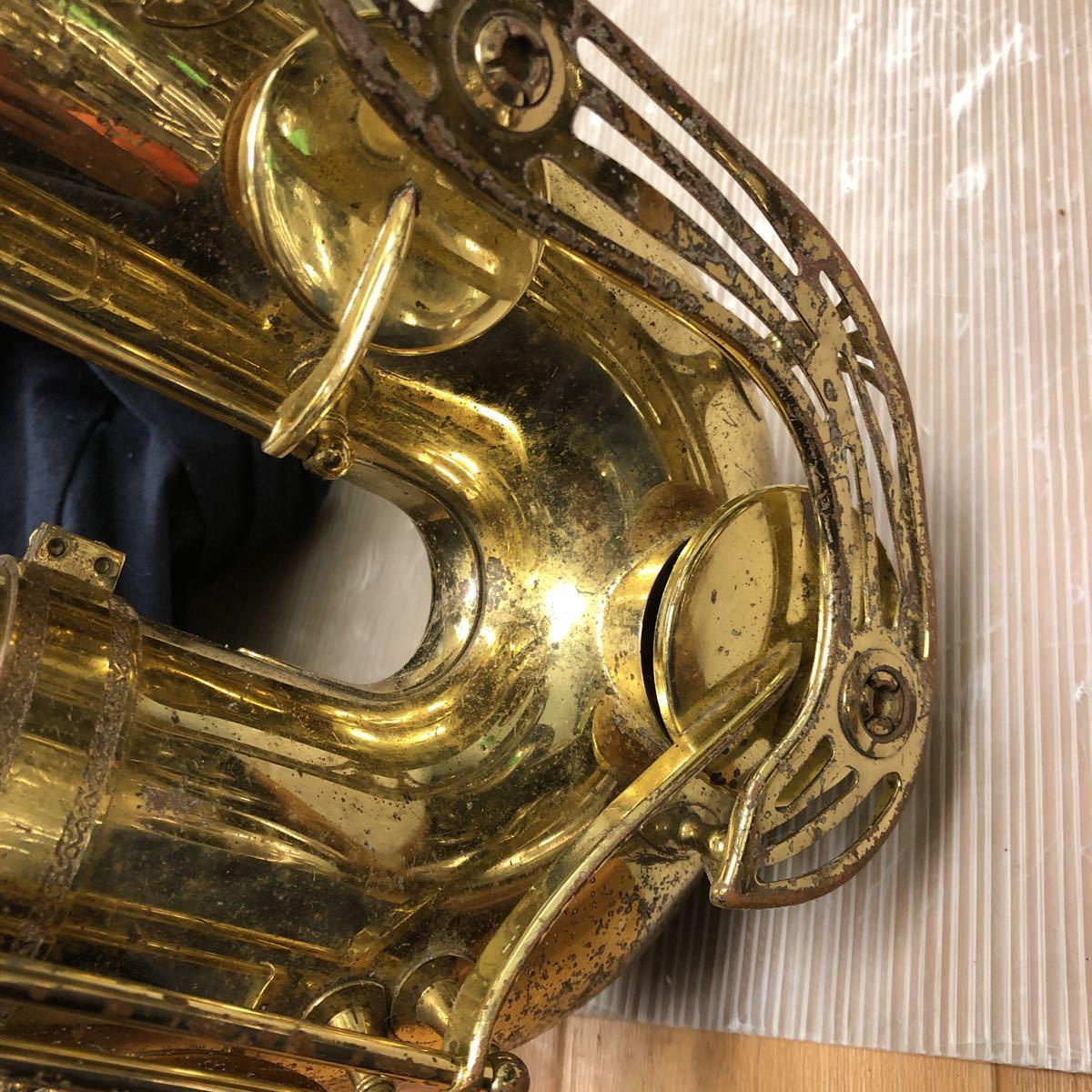 ★YAMAHA★ヤマハ バリトンサックス YBS-61 木管楽器 プロモデル 5388 ヴィンテージ 中古現状品 _画像10