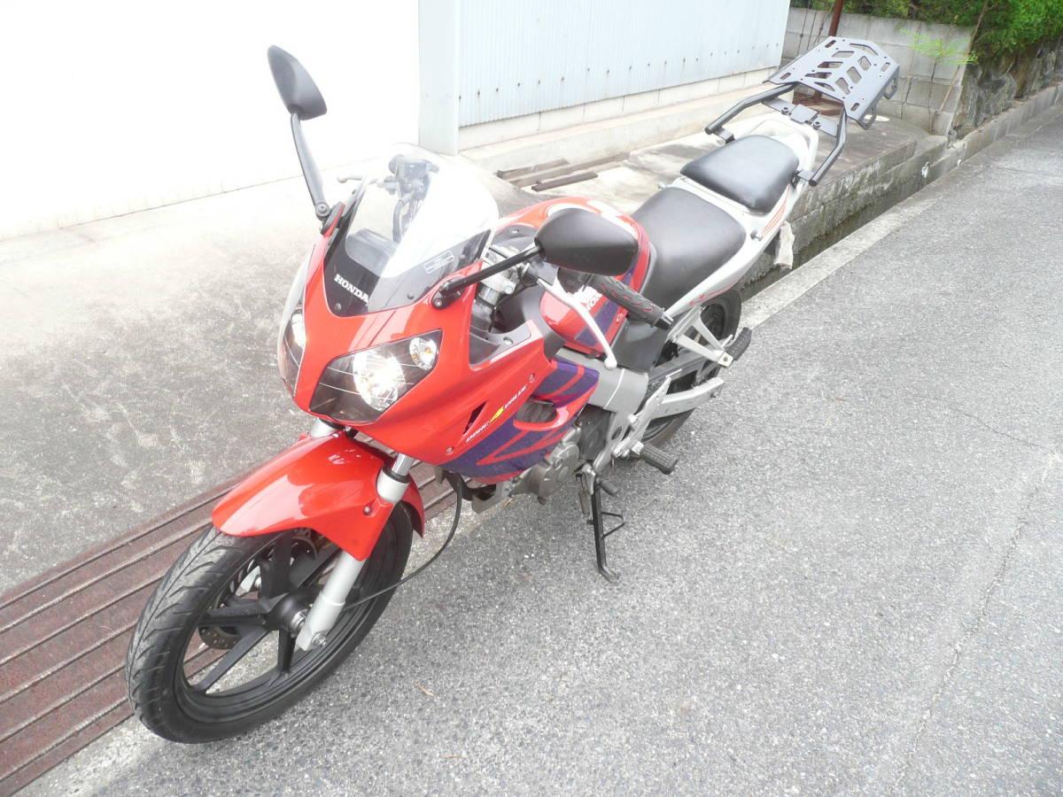 「岡山県より CBR125RR? キャブ車」の画像1
