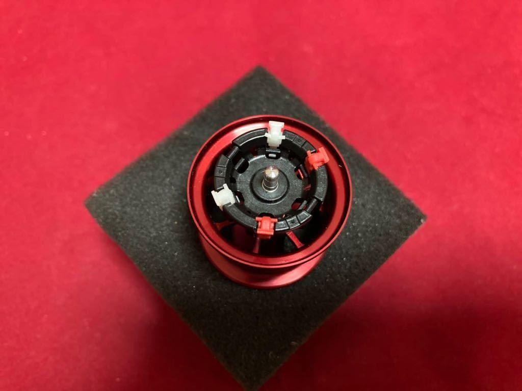 ☆ 美品 AVAIL アベイル マイクロキャストスプール MT1332R シマノ 13メタニウム用 レッド ☆_画像3