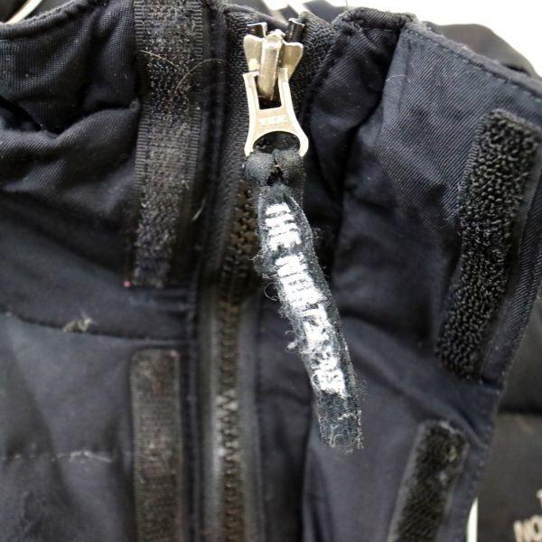 THE NORTH FACE ザノースフェイス ダウンジャケット スキーウェア アウトドア 黒 (Women's XL) 大きいサイズ 中古 古着 I4631_画像8