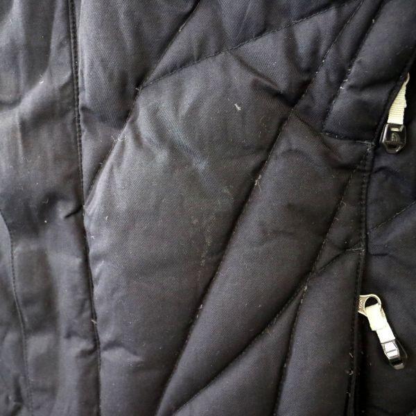 THE NORTH FACE ザノースフェイス ダウンジャケット スキーウェア アウトドア 黒 (Women's XL) 大きいサイズ 中古 古着 I4631_画像6