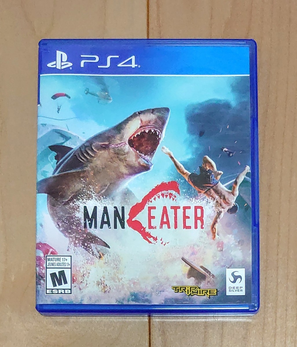 PS4  MANEATER マンイーター 北米版