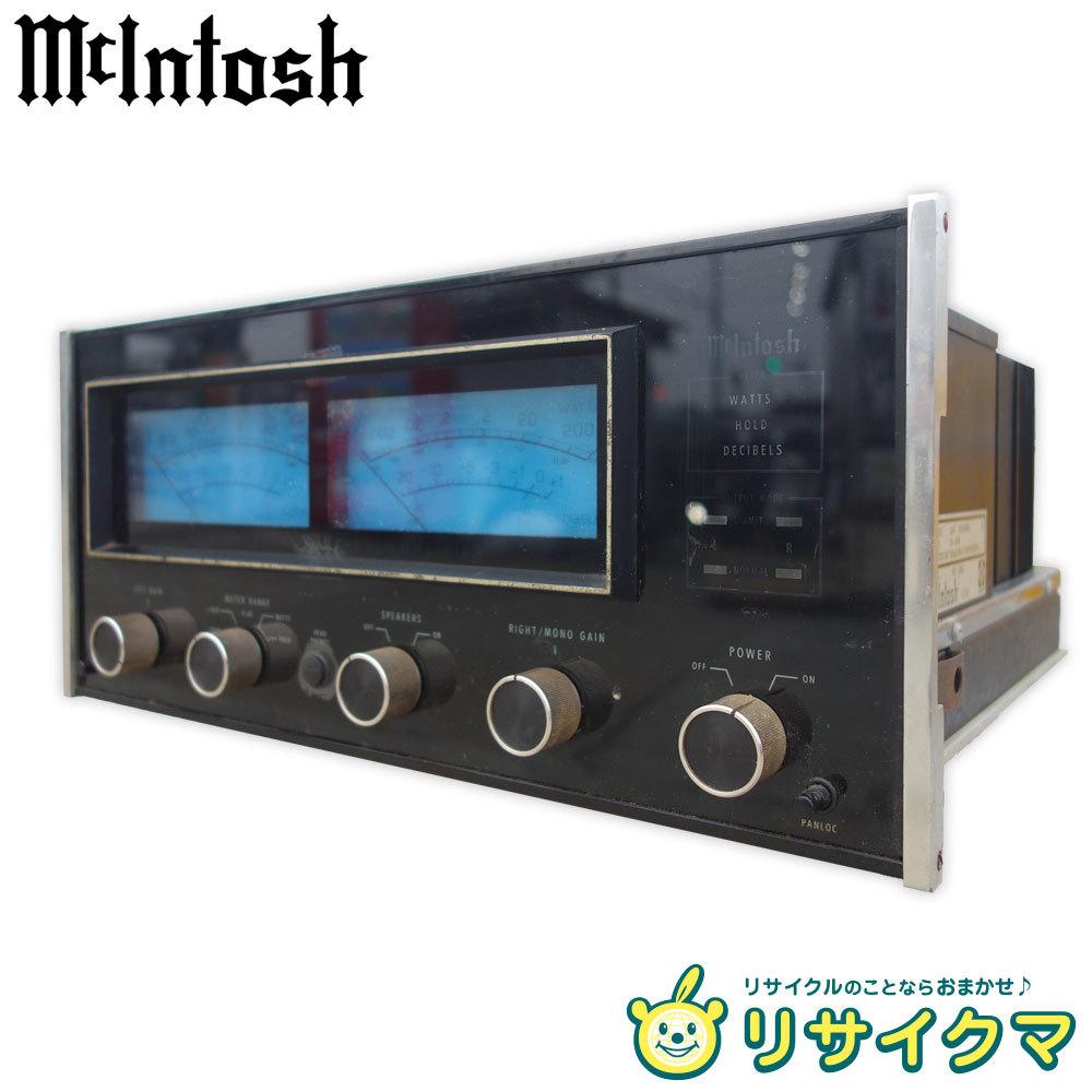 【中古】M▽マッキントッシュ McIntosh ステレオパワーアンプ 120V MC-2205 (22401)_画像1
