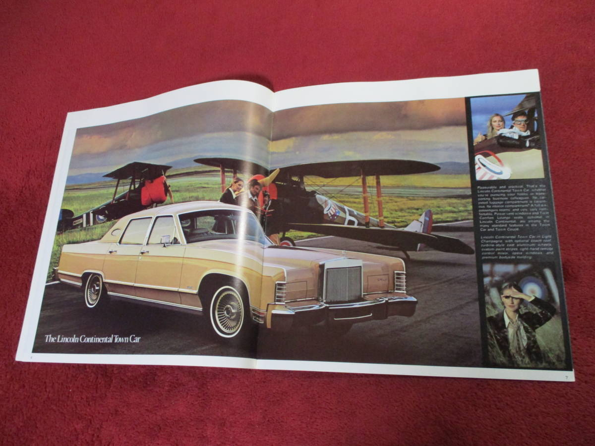 ☆ FORD LINCOLN CONTINENTAL 1979 昭和54 大判 カタログ ☆_画像3