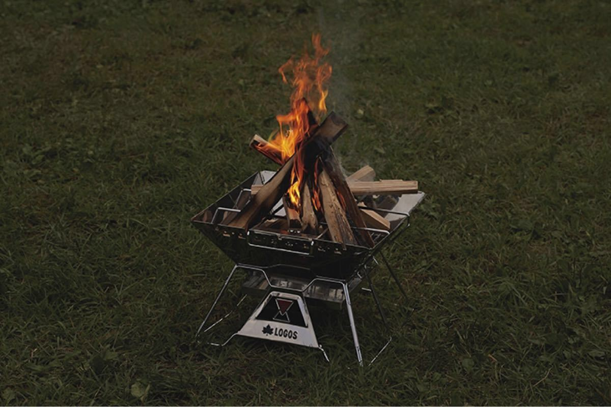 LOGOS the ピラミッドTAKIBI L コンプリート ロゴス 焚き火