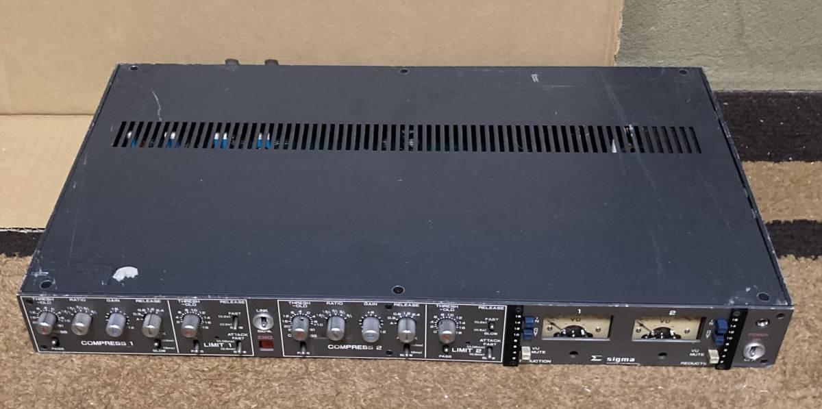 SIGMA SS-501 放送局用2chコンプレッサー・リミッター ジャンク_画像6