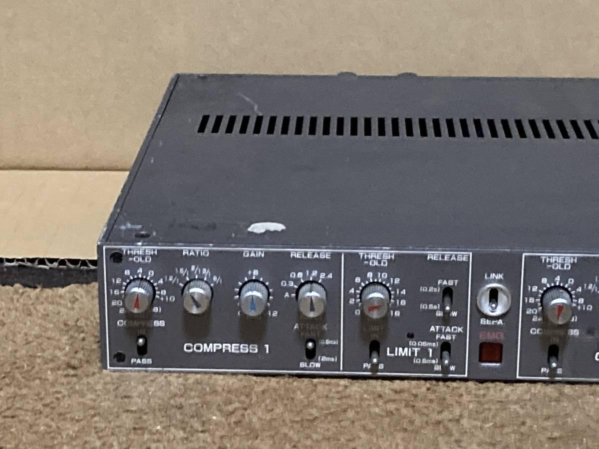 SIGMA SS-501 放送局用2chコンプレッサー・リミッター ジャンク_画像2