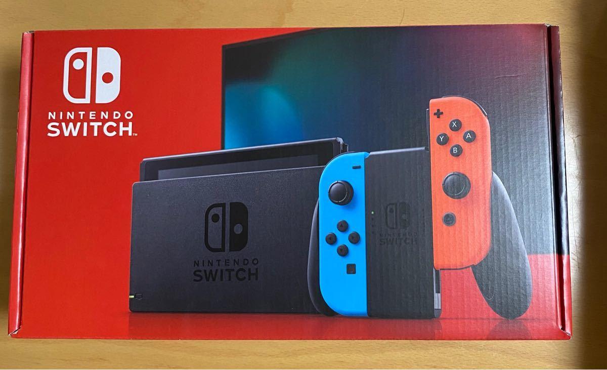 新品未使用 任天堂スイッチ Nintendo Switch 本体 ネオンレッド