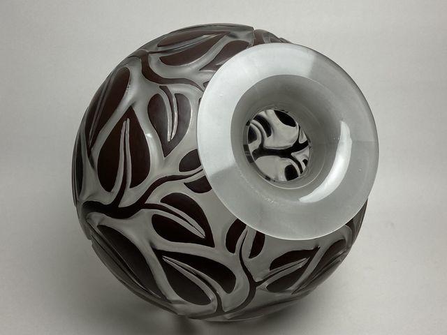 《芦》 Rene Lalique ルネ・ラリック SOPHORA(槐エンジュ) 花器_画像5