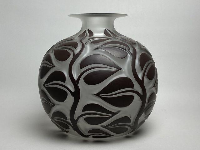 《芦》 Rene Lalique ルネ・ラリック SOPHORA(槐エンジュ) 花器_画像3