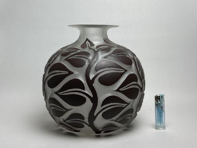 《芦》 Rene Lalique ルネ・ラリック SOPHORA(槐エンジュ) 花器_画像2