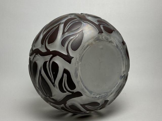 《芦》 Rene Lalique ルネ・ラリック SOPHORA(槐エンジュ) 花器_画像6