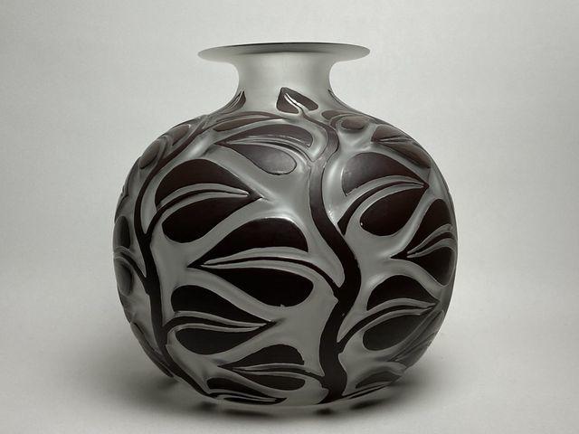 《芦》 Rene Lalique ルネ・ラリック SOPHORA(槐エンジュ) 花器_画像4