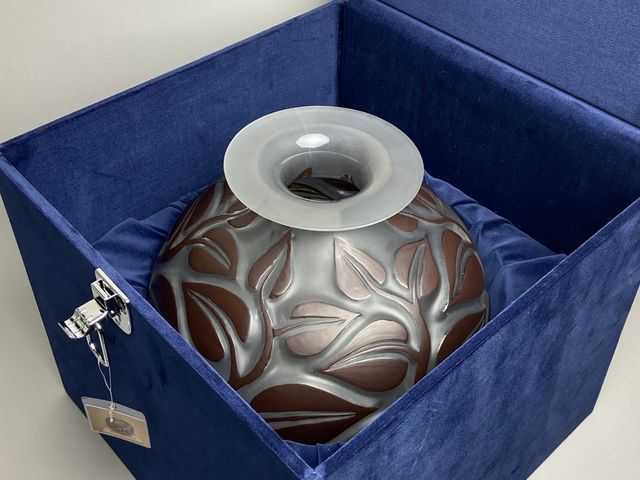 《芦》 Rene Lalique ルネ・ラリック SOPHORA(槐エンジュ) 花器_画像10