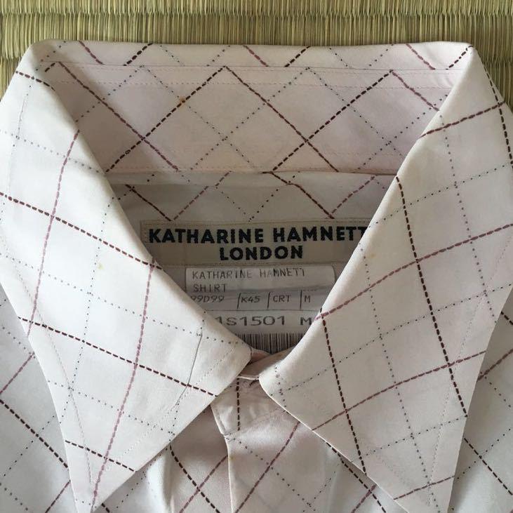 キャサリンハムネット KATHARINE HAMNETT シャツ ピンク