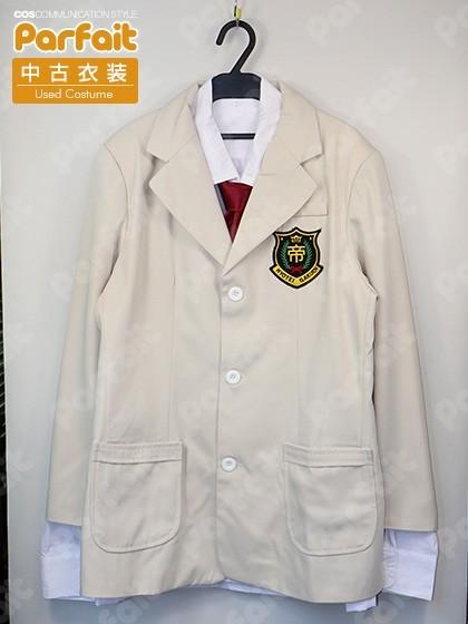 【未使用品】コスプレ衣装 テニスの王子様/氷帝学園男子制服(3Lサイズ)_画像1