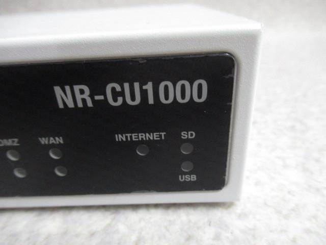 Ω 保証有 ZF1★19107★NR-CU1000 ClubOneSystems 情報セキュリティトリプルプロテクション(Check Point L-71) 領収書発行可能 同梱可_画像2