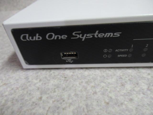 Ω 保証有 ZF1★19107★NR-CU1000 ClubOneSystems 情報セキュリティトリプルプロテクション(Check Point L-71) 領収書発行可能 同梱可_画像3