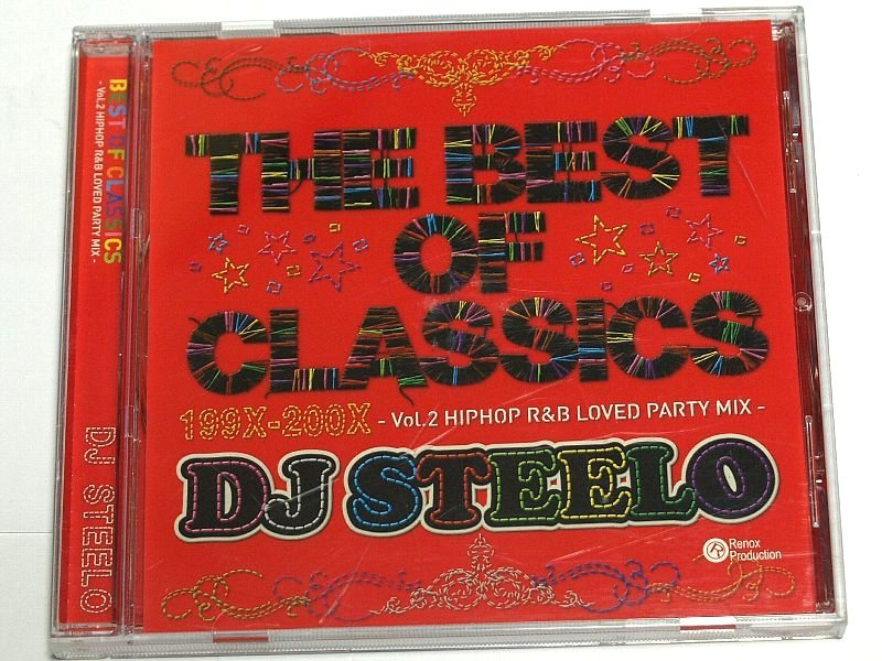 BEST OF CLASSICS VOL.2 DJ STEELO - HIPHOP R&B LOVED PARTY MIX - 199X-200X MIXCD