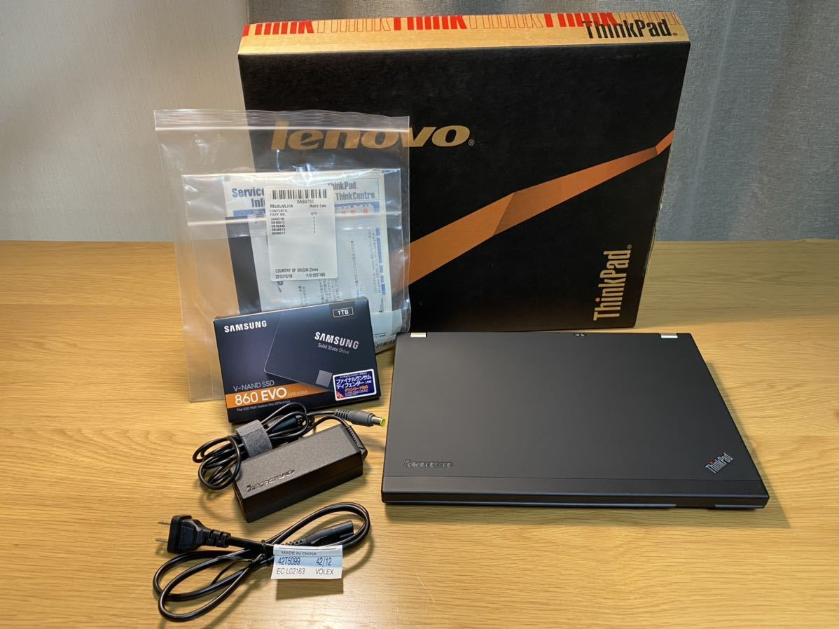 【奇跡の極上美品】Lenovo ThinkPad X220 Core i7 SSD1TB 16GB IPSディスプレイ Bluetoot