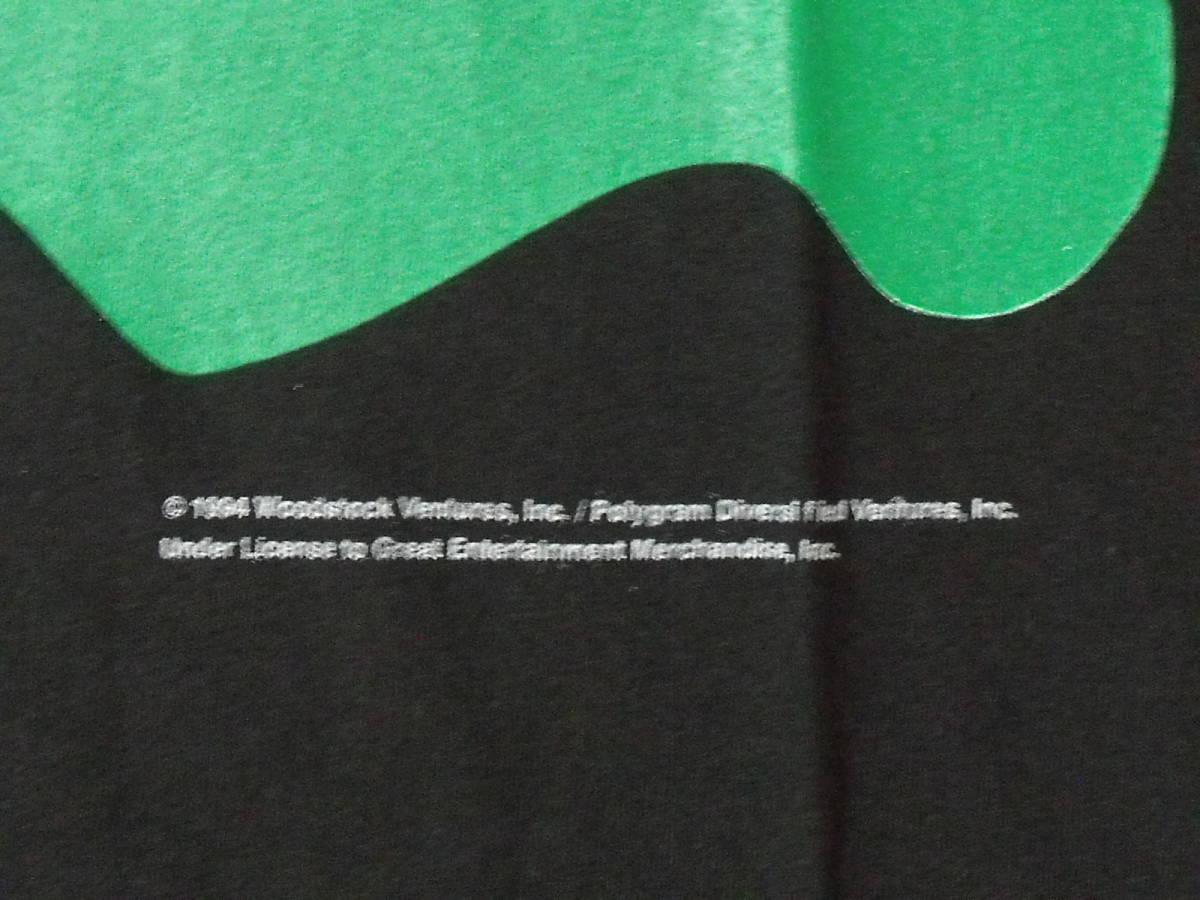 1994 WOODSTOCK USA製 ロックフェスティバルTシャツ 新品 ブラック L _画像3