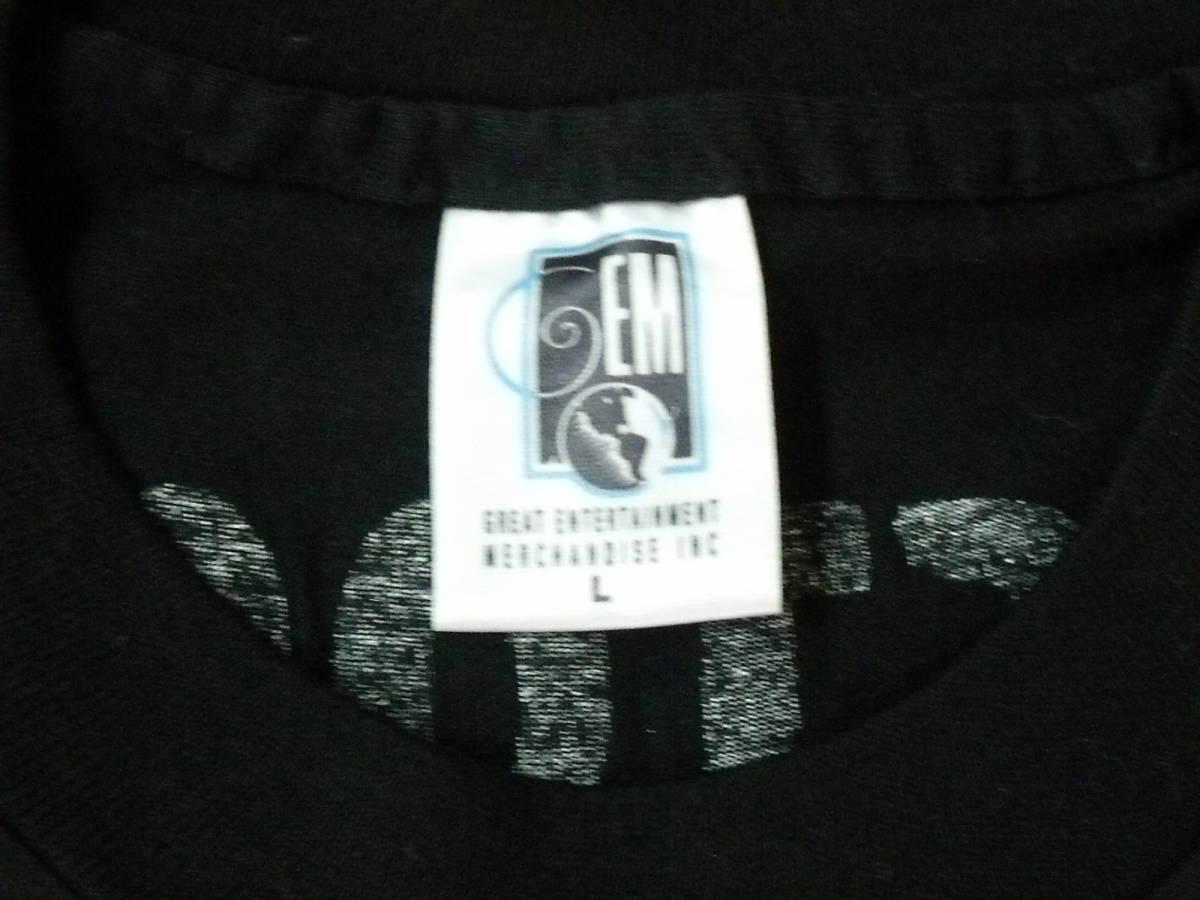 1994 WOODSTOCK USA製 ロックフェスティバルTシャツ 新品 ブラック L _画像4