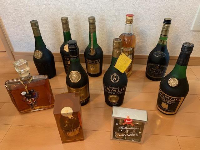 ★酒まとめ★コニャック・ブランデー・アルマニャック・ウイスキーなど 11本まとめて COGNAC 古酒