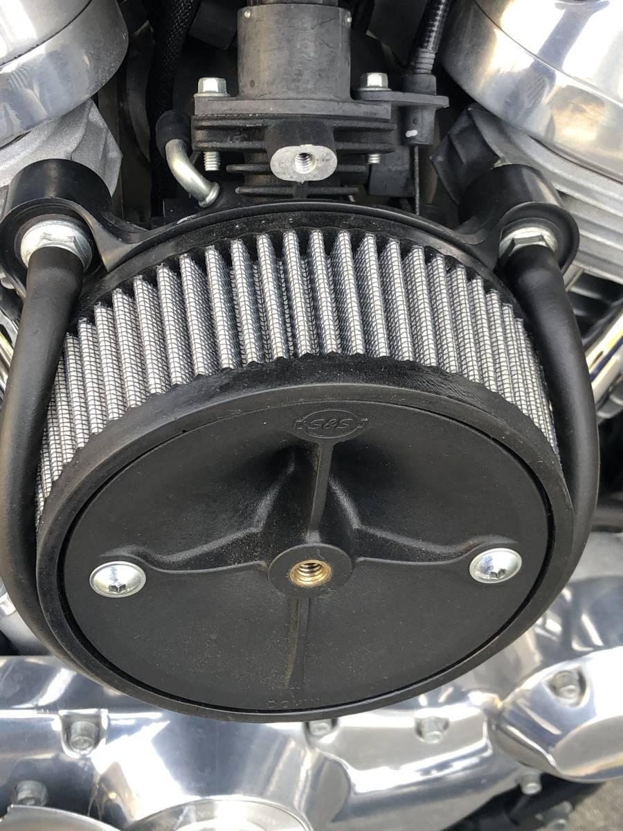 1オーナー 車検たっぷり スポーツスター 883 スーパーロー 2011 スクリーミンイーグル スーパーチューナー_画像7
