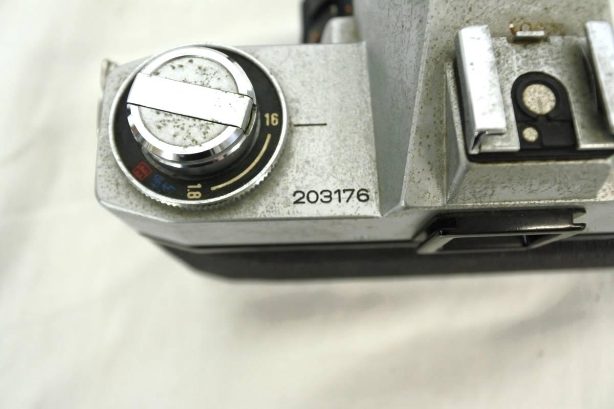 【ジャンクカメラまとめ売り】MF一眼レフ/6台/⑥/Canon/203176/OLYMPUS/Nikon/PENTAX/等_画像4