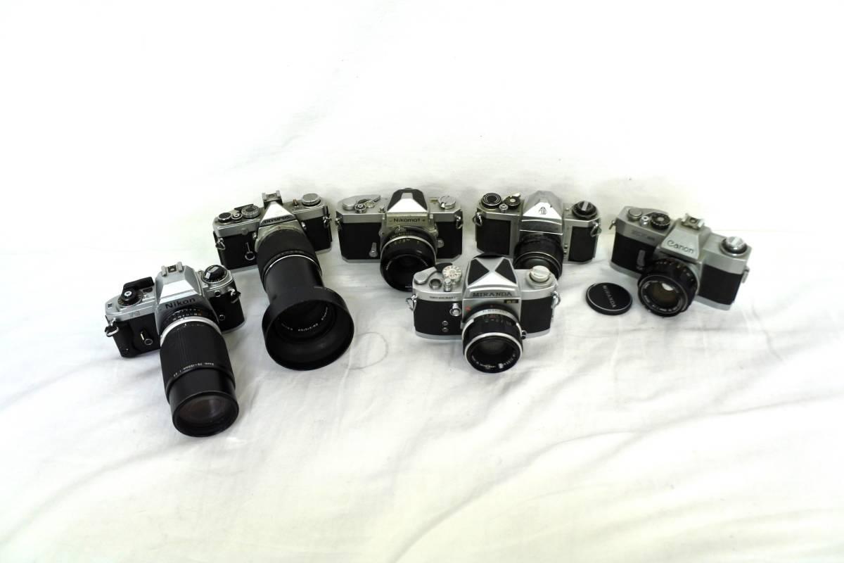 【ジャンクカメラまとめ売り】MF一眼レフ/6台/⑥/Canon/203176/OLYMPUS/Nikon/PENTAX/等_画像1