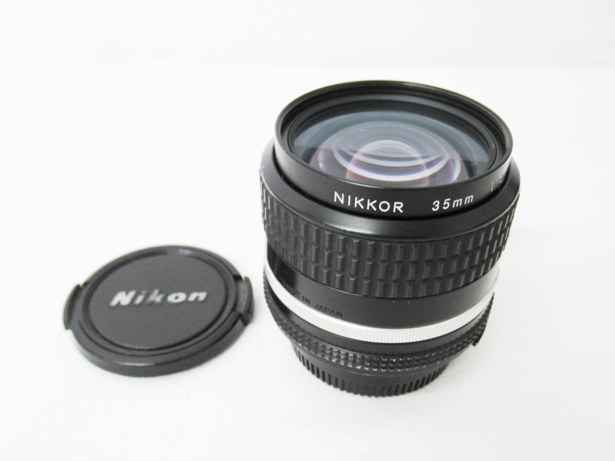 【NIKON ニコン】NIKKOR 35mm 1:2 Ai-S (298529) 羽根絞りOK ③⑥_画像1