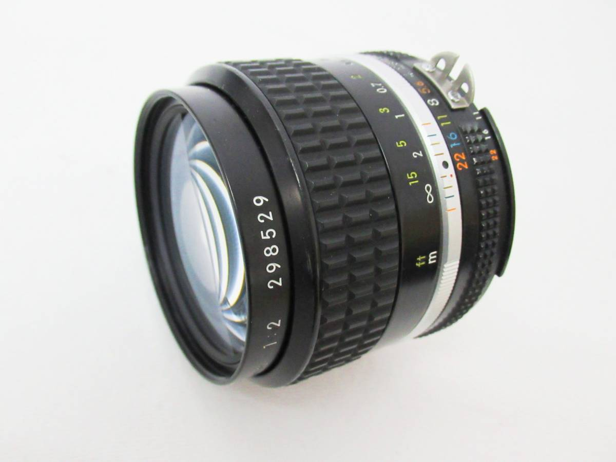 【NIKON ニコン】NIKKOR 35mm 1:2 Ai-S (298529) 羽根絞りOK ③⑥_画像6