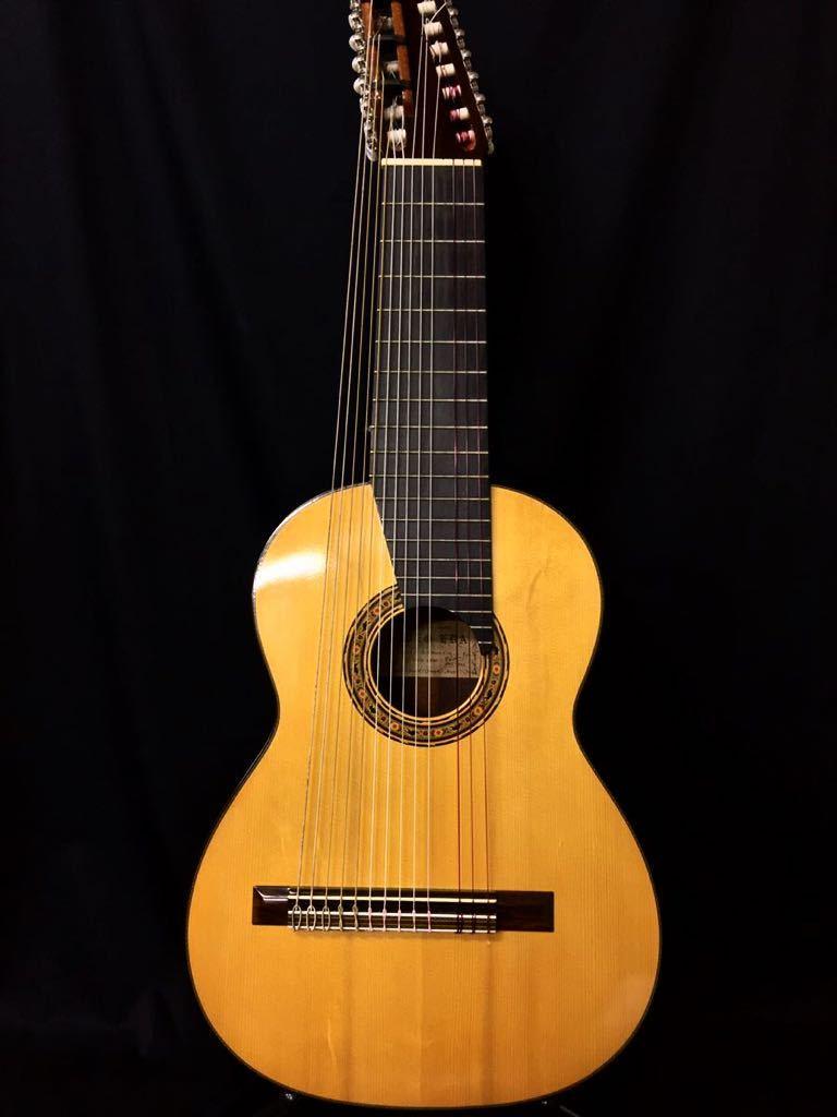 クラシックギター 井田英夫 1984年製 14弦 アンティーク ガットギター ケース付き