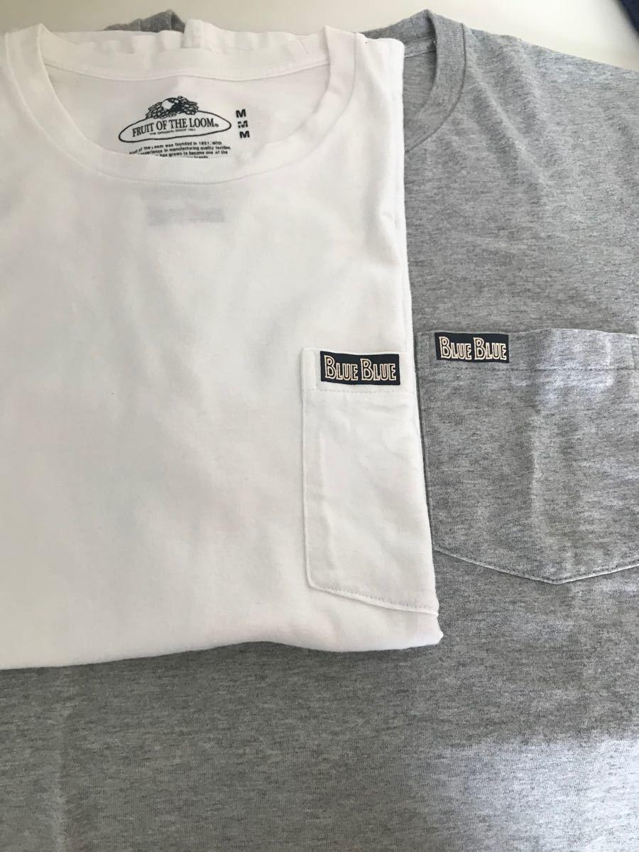 ブルーブルー ポケットT Tシャツ 半袖