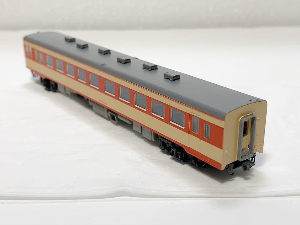 TOMIX 2462(車両裏番号)キハ55-139 T車 国鉄 キハ55形 ディーゼルカー 急行色 Nゲージ_画像8