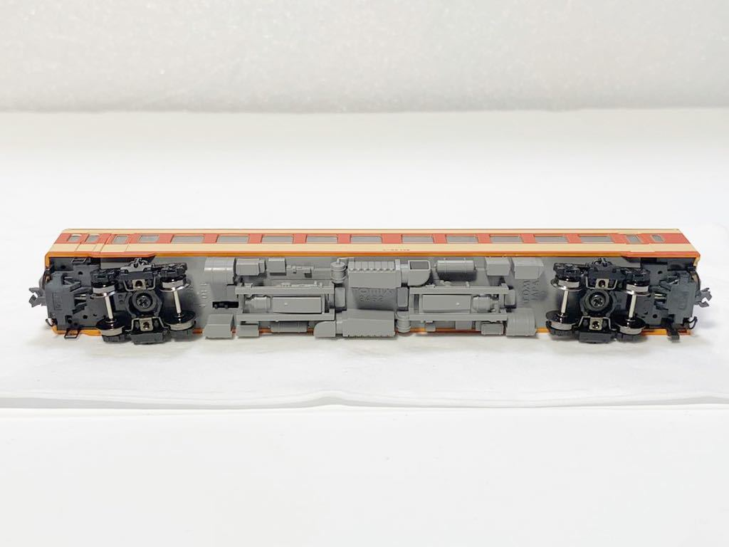 TOMIX 2462(車両裏番号)キハ55-139 T車 国鉄 キハ55形 ディーゼルカー 急行色 Nゲージ_画像10