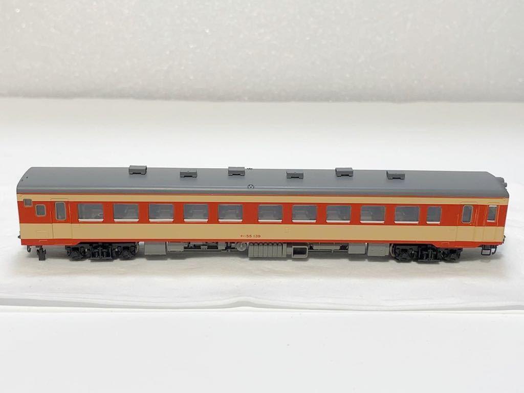 TOMIX 2462(車両裏番号)キハ55-139 T車 国鉄 キハ55形 ディーゼルカー 急行色 Nゲージ_画像5