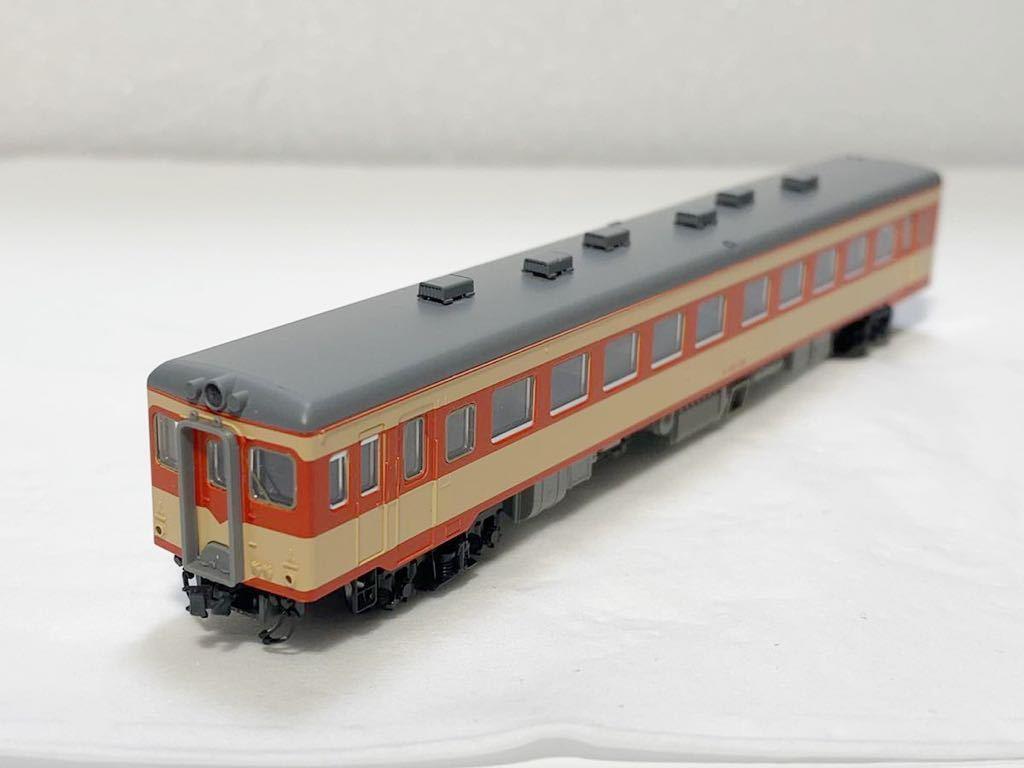 TOMIX 2462(車両裏番号)キハ55-139 T車 国鉄 キハ55形 ディーゼルカー 急行色 Nゲージ_画像2