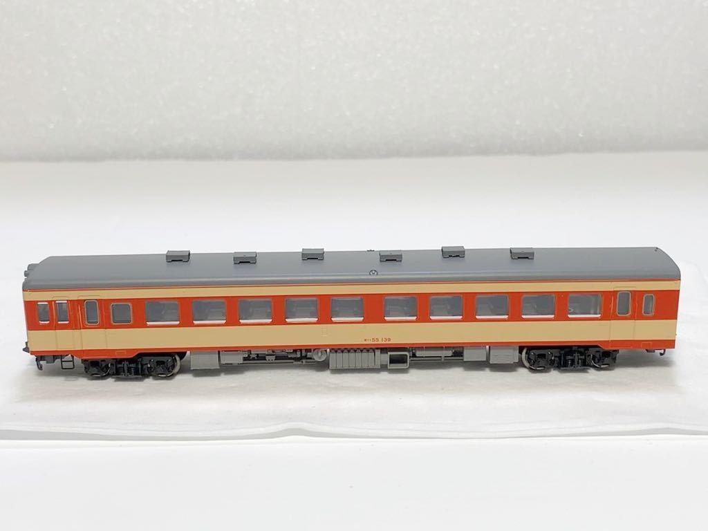 TOMIX 2462(車両裏番号)キハ55-139 T車 国鉄 キハ55形 ディーゼルカー 急行色 Nゲージ_画像1