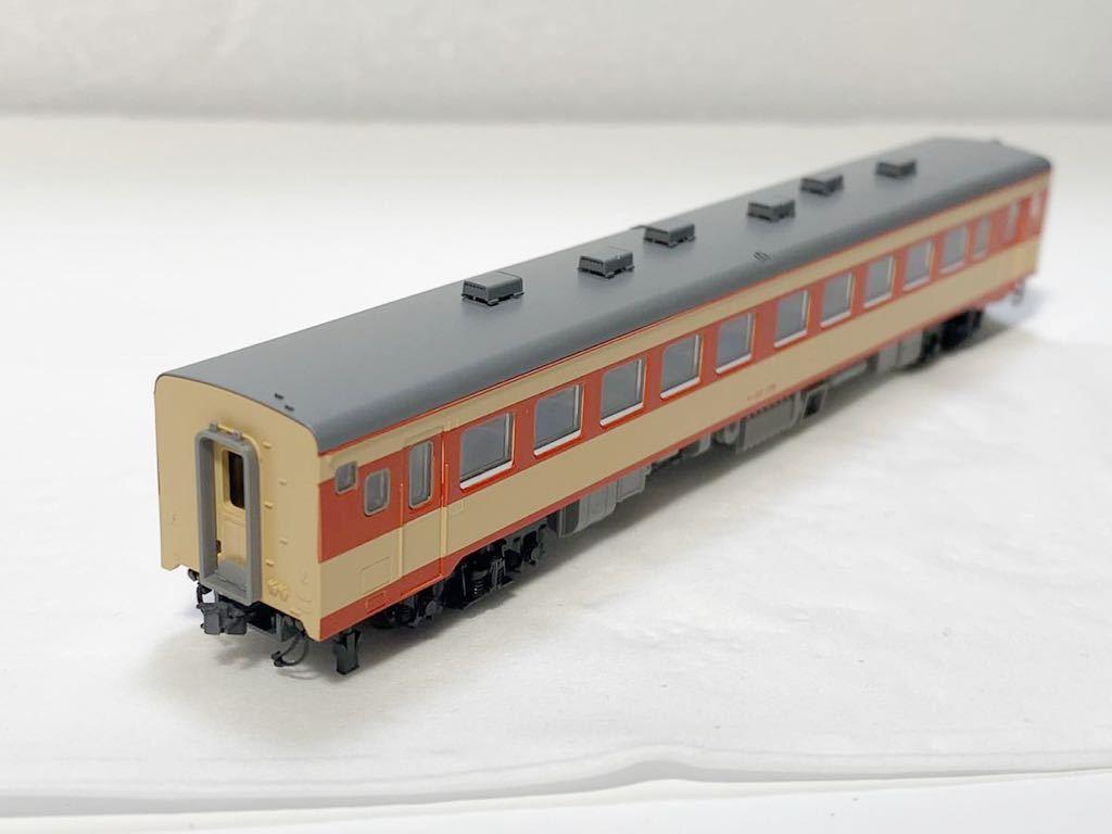 TOMIX 2462(車両裏番号)キハ55-139 T車 国鉄 キハ55形 ディーゼルカー 急行色 Nゲージ_画像6