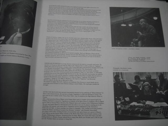 英EMI SLS823 マタチッチ指揮/メリーウィドウ全曲 白黒ポスト盤 2LPbox 優秀録音盤_画像5
