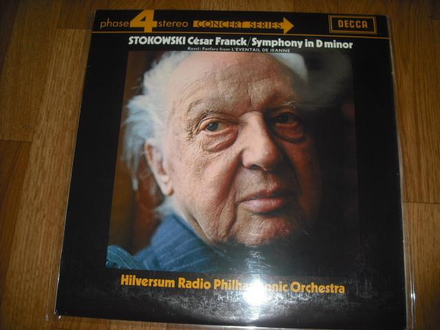英DECCA PFS4218 ストコフスキー指揮/フランク交響曲 P4S small 赤白盤 優秀録音盤 _画像1