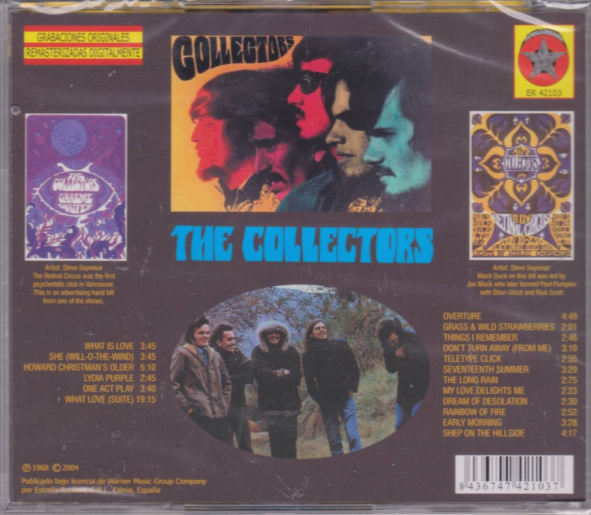 The Collectors - The Collectors + Grass And Wild Strawberries 2 in 1CD